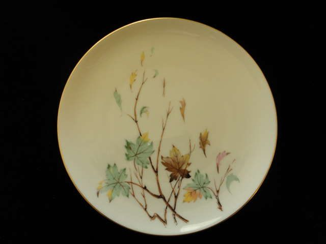 "Pair of Lenox Westwind Salad Plates 7 7/8"" X-407"