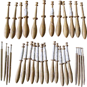 French Lace Makers Bobbins