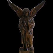 Carved Wood Angel