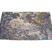 "French Tapestry ""Le Pont"""