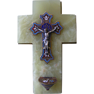 A French Holy Water Holder Benitier