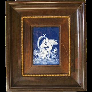 Limoges Pate Sur Pate Framed Panel