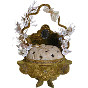 A french Marriage Crown Cushion