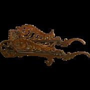19th Century Novelty Wheelbarrow Pen Rest