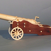 Bone and wood Cannon