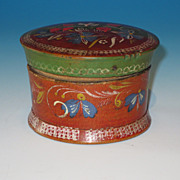 Polychromed and Decorated Box