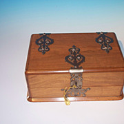 Very Fine Exotic Hardwood Games Chest
