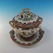 Indian Stone Soup Tureen and undertray