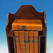 """Madme De Remusat"" leather bound  6 volume set"