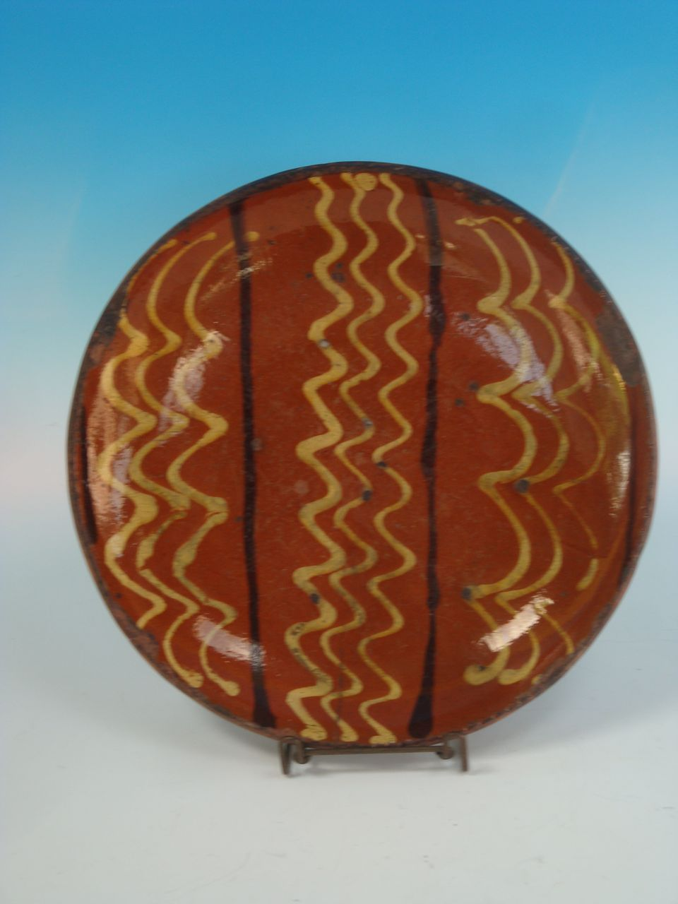 Pennsylvania Redware Charger
