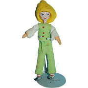 JACK from Jack and Jill 1950s Cloth Dolls By BAPS - Edith Van Arps Made in Germany