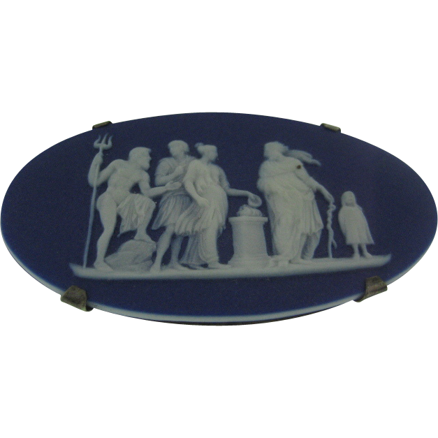 dating early wedgwood jasperware Results 145 - 192 of 345  a blue wedgwood jasperware miniature plate it does  and 'made in  england' separated which i understand dates this between 1908 and 1969   antique old rare english blue jasper salad bowl.