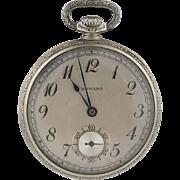Vintage Circa 1921 14K Gold E. Howard Watch Co. Series Three Pocket Watch