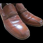 Rare handmade John McHale leather loafers