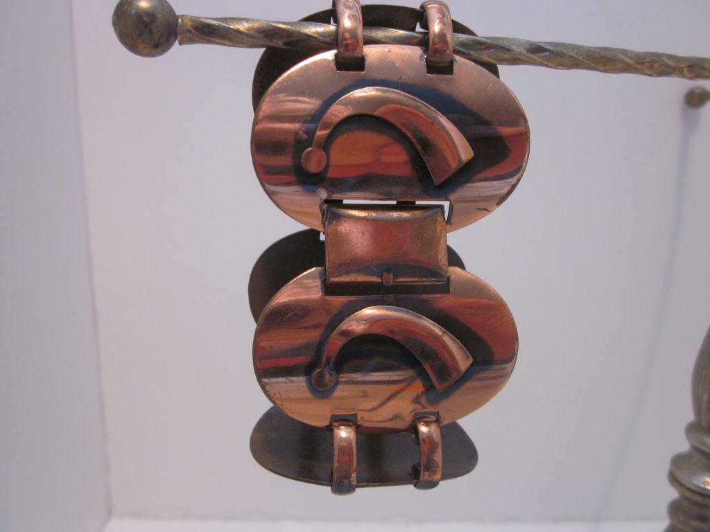 Vintage Mod Genuine Copper Bracelet