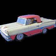 1950's Metal Car Convertible