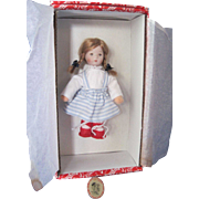 Kathe Kruse NRFB Doll House Girl