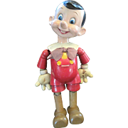 20 inch Ideal Pinocchio Wooden Doll