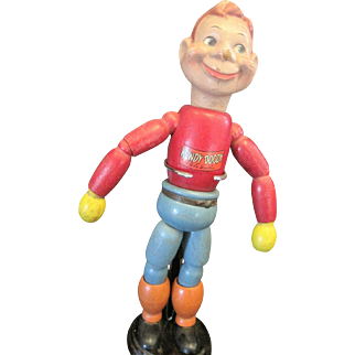 Howdy Doody 12 1/2 inch wooden doll made by Cameo