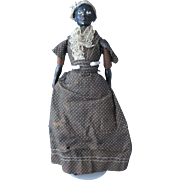 Black China Head Doll