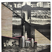"Photography Picture Art Mixed Media Collage ""Miami""  Vera Simons"