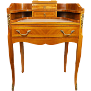 Vintage Mahogany Writing Desk