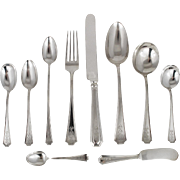 Gorham Sterling Silver Set Vintage Flatware Fairfax Pattern