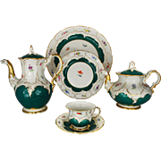 Meissen Coffee Tea Service Set for Ten Porcelain