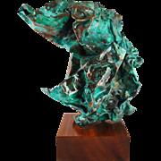 Jacob Colburn Sculpture Copper Patina Contemporary Art