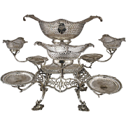 Sterling Silver Epergne, Thomas Pitts Georgian Antique 1772