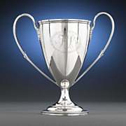 Hester Bateman Antique Silver Loving Cup