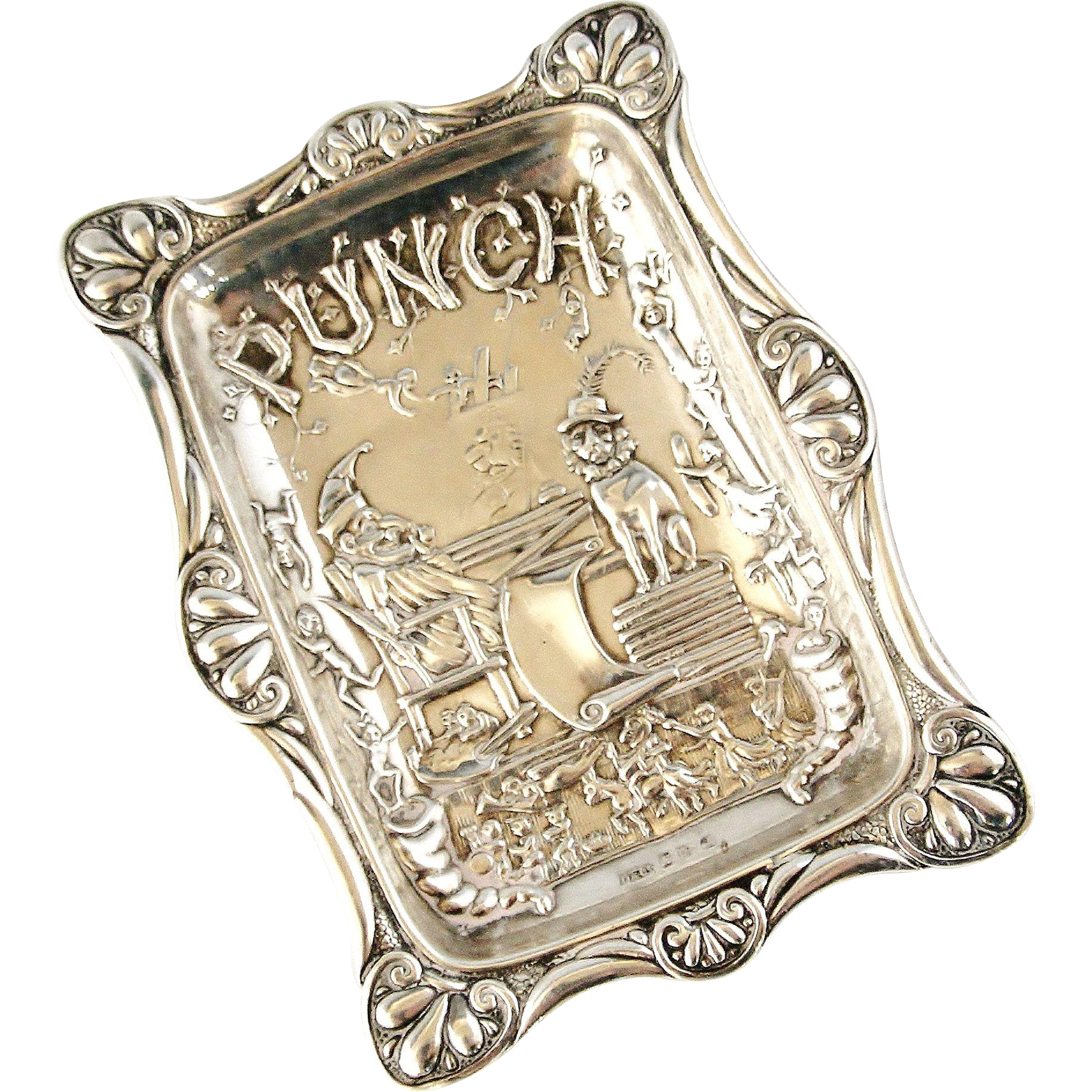 on hold for d english sterling silver victorian mr punch pin tray on hold for d english sterling silver victorian mr punch pin tray 1894