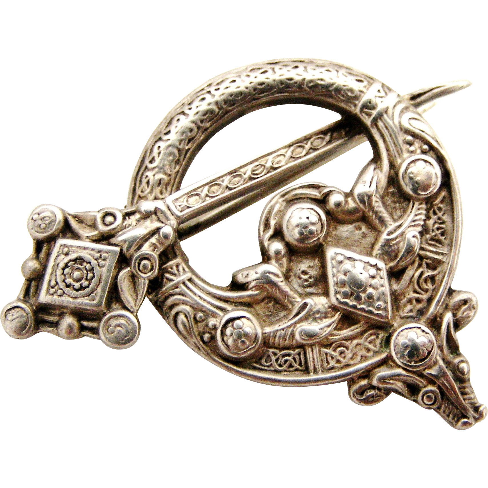 listing online st justin auctions pro pewter celtic brooch sdr wp
