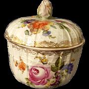 Old German Porcelain covered bowl