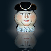 Russian Porcelain Mug By Miklashevsky
