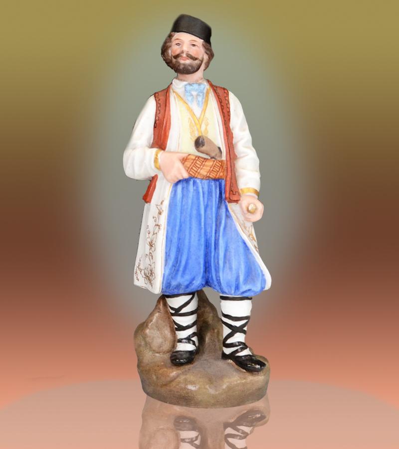 Russian Antique Figurine Montenegros