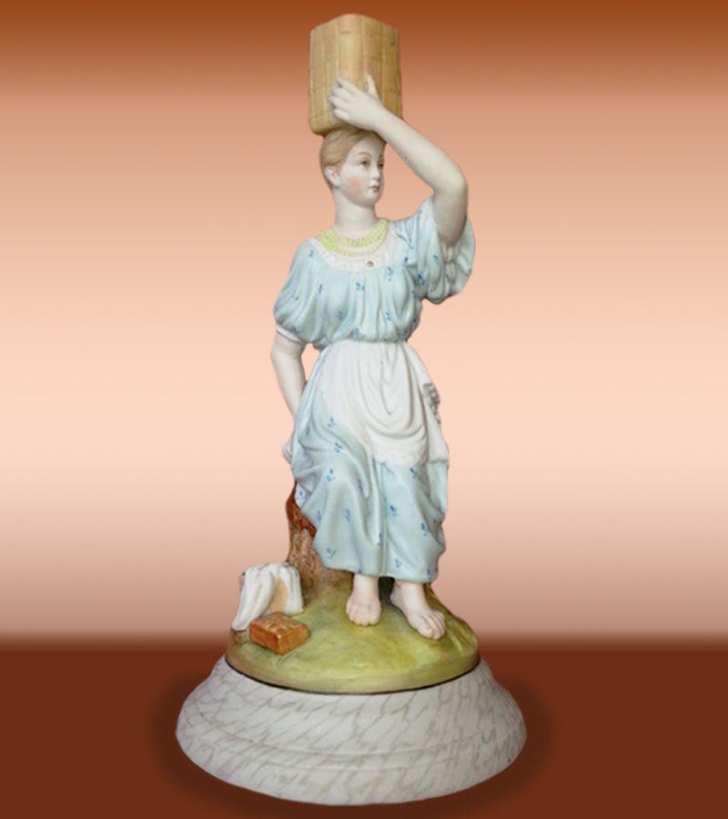 Russian Porcelain Figure By Gardner Factory