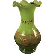 Opaline Glass Vase Vase Napoleon III. Exceptional Colour