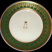 Russian Antique Porcelain Plate