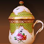 Old Vienna Porcelain (Şerbetlik) Sherbetlik For Ottoman Court