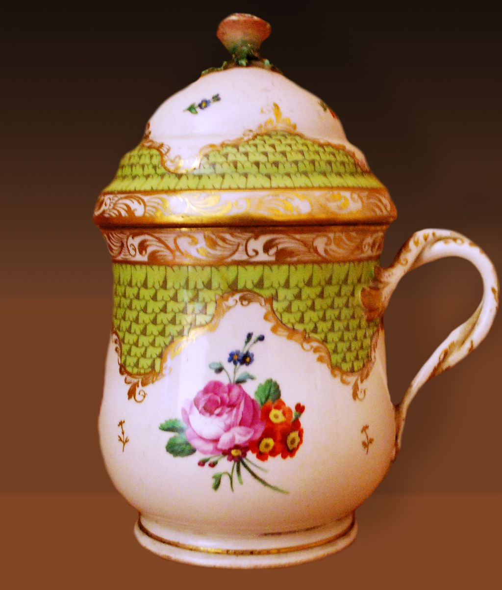Old Vienna Porcelain (Şerbetlik) Sherbetlik For Ottoman Court