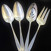 "Beautiful 140 Piece Gorham ""Esprit"" Sterling Silver Flatware Set"