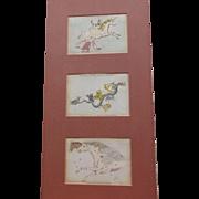 John Heaviside Clark Constellation Star Cards C.1830