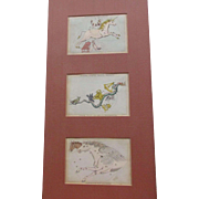 John Heaviside Clark Constellation Star Cards C.1830