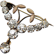 Antique Victorian Paste Jewelry Pin
