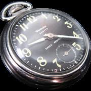 Vintage Westclox Scotty Pocket Watch
