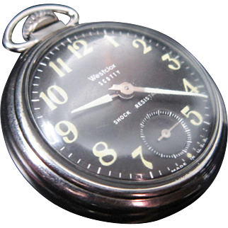 Vintage Westclox Scotty Pocket Watch