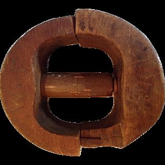 Handmade Wooden Hat Mold/Form