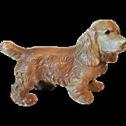 Cast Iron Hubley Cocker Spaniel Dog Paper Weight