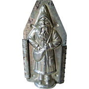 Vintage Chocolate Mold German Belsnickle Santa